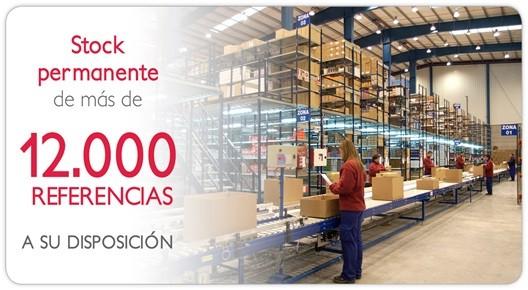 Mas de 12000 productos
